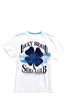 Lucky Brand Surf Club Clover Tee Boys 8-20