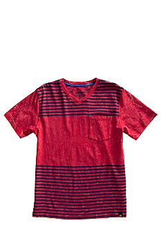 Lucky Brand Lukesh Striped Tee Boys 4-7