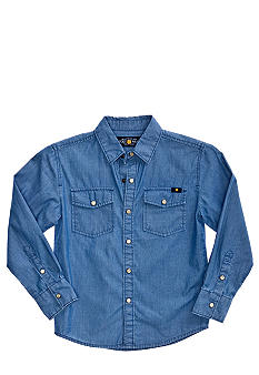 Lucky Brand Malibu Chambray Shirt Boys 4-7