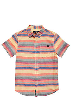 Lucky Brand Coba Striped Woven Shirt Boys 4-7