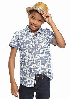 Lucky Brand Pattern Woven Shirt Boys 8-20