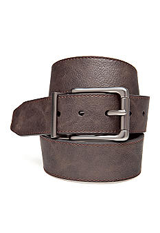 J Khaki 30MM Reversible Belt with Stitching Boys 4-20