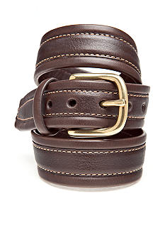 J Khaki 30MM Flat Belt with Stitching Boys 4-20