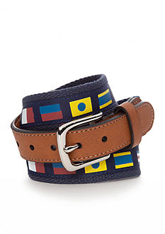 J Khaki™ Flag Screen Print Web Belt Boys 8-20