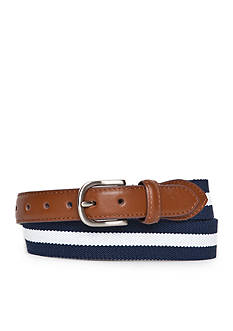 J Khaki™ Striped Stretch Web Belt Boys 8-20