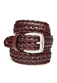 J Khaki 25MM Weave Braided Belt Boys 4-20