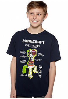 Minecraft Minecraft Creeper Tee Boys 8-20