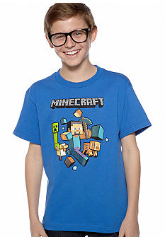 Minecraft Minecraft Run Away Tee Boys 8-20