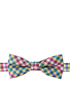 IZOD Caspian Plaid Bow Tie Boys 4-20
