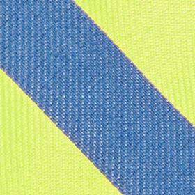 Boys Youth Ties: Yellow IZOD Neon Bar Stripe Tie Boys 4-20