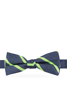 IZOD Neon Stripe Bow Tie Boys 4-20