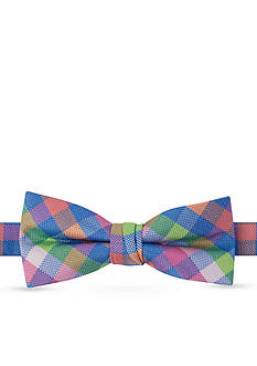 IZOD Oxford Madras Bow Tie Boys 4-7