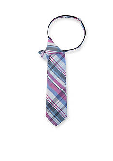 IZOD Oakland Plaid II Tie Boys 4-20
