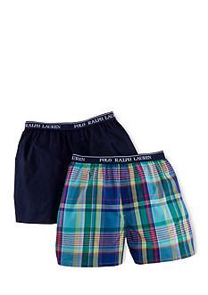 Ralph Lauren Childrenswear 2-Pack Woven Boxer Shorts Boys 8-20