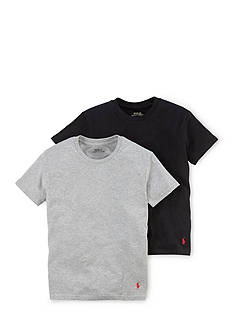 Ralph Lauren Childrenswear 2-Pack Crew Neck T-Shirt Set Boys 8-20