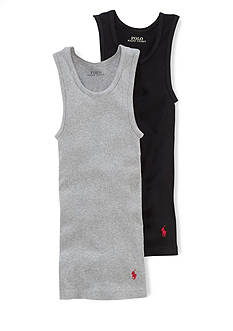 Ralph Lauren Childrenswear 2-Pack Athletic Tank Tops Boys 8-20