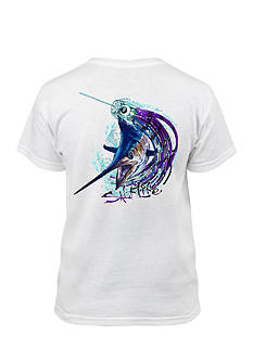 Salt Life Short Sleeve Marlin Lure Tee Boys 8-20