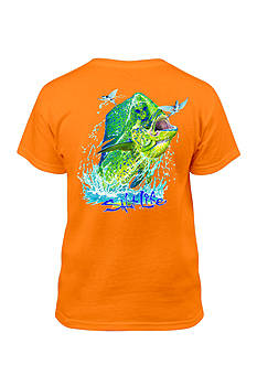Salt Life Short Sleeve Mahi Head Tee Boys 8-20