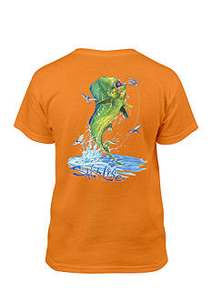 Salt Life Short Sleeve Mahi Explosion Tee Boys 8-20