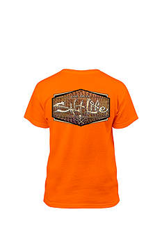 Salt Life Short Sleeve Fish Skinz Tee Boys 8-20