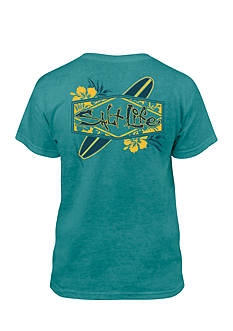 Salt Life Sup Daze Salt Wash Tee Boys 8-20