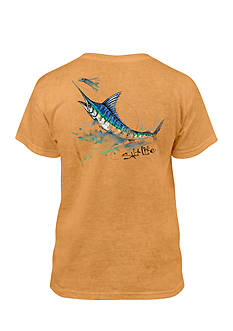 Salt Life Painted Marlin Salt Wash Tee Boys 8-20