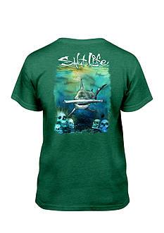 Salt Life Hammerhead Seas Tee Boys 8-20