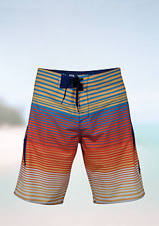 Salt Life Stingray Stripe Trunks Boys 8-20