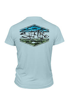 Salt Life Scheme Performance Tee Boys 8-20