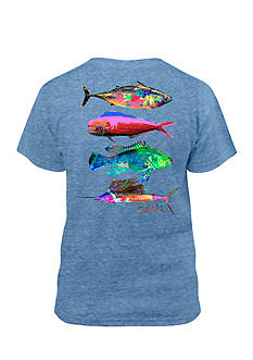 Salt Life Psychofin Performance Tee Boys 8-20