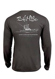 Salt Life Short Sleeve Uncharted Tee Boys 8-20