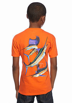 Guy Harvey Short Sleeve Grand Slam Tee Boys 8-20