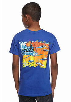 Guy Harvey Short Sleeve Hydro Tee Boys 8-20