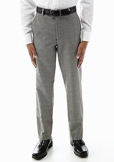 Lauren Ralph Lauren Dress Apparel Bedgemont Gray Plaid Suit Pants Boys 8-20