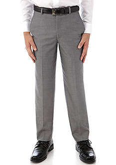 Lauren Ralph Lauren Dress Apparel Gray Pindot Trousers Boys 8-20