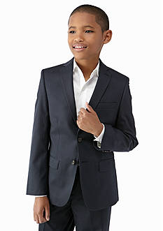 Lauren Ralph Lauren Blayton Navy Stripe Suit Jacket Boys 8-20