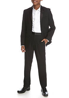 Lauren Ralph Lauren Dress Apparel 2-Piece Tuxedo Jacket and Pant Set Boys 8-20