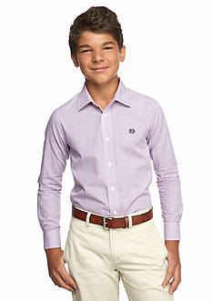 Lauren Ralph Lauren Dress Apparel Poplin Tattersall Shirt Boys 8-20