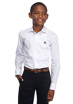 Ralph Lauren Childrenswear Poplin Spread Collar Button Down Shirt Boys 8-20