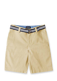 Chaps Flat Front Shorts Boys 4-7