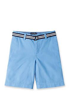 Chaps Flat Front Shorts Boys 4-7
