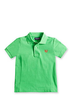 Chaps Cotton Pique Polo Shirt Boys 4-7