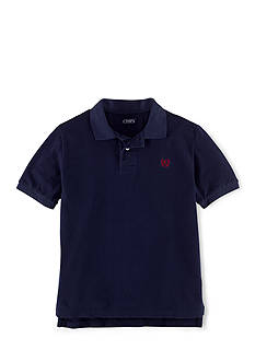Chaps Short Sleeve Solid Polo Shirt Boys 8-20