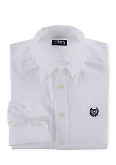 Long Sleeve Solid Basic Oxford Boys 8-20