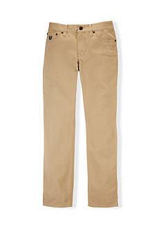 Chaps Five-Pocket Twill Pants Boys 8-20