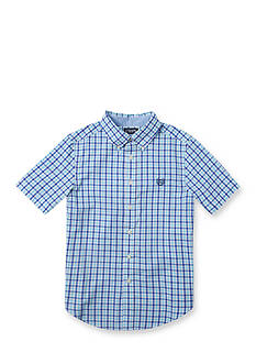 Chaps Checked Shirt Boys 8-20