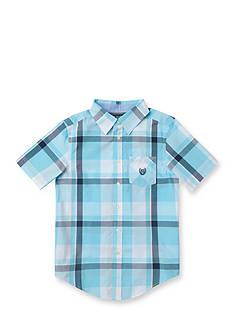 Chaps Plaid Shirt Boys 8-20