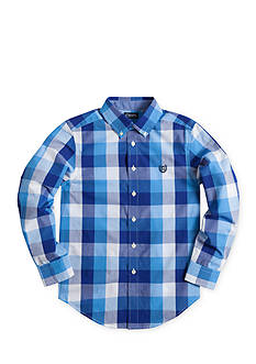 Chaps Checked Poplin Shirt Boy 8-20