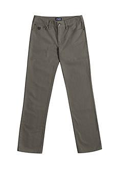 Chaps Twill 5-Pocket Pants Boys 8-20
