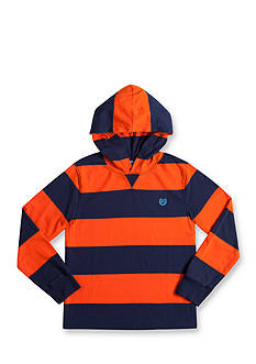 Chaps Striped Jersey Hoodie Boys 8-20